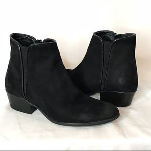 Steve Madden Nytroo Chelsea Leather Ankle Booties